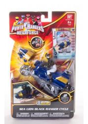 Игрушка Могучие Рейнджеры Мотоцикл с Самураем 10см
