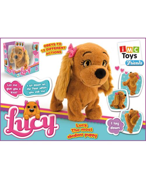 Lucy интерактивная собака Люси IMC Toys 7963
