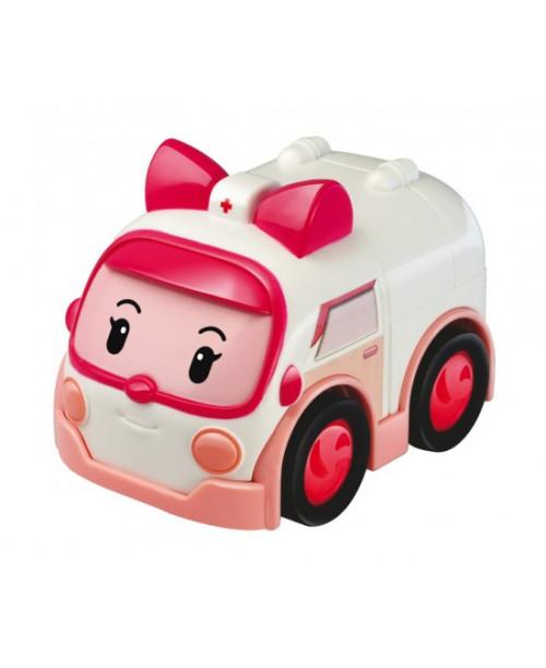 Машинка инерционная Эмбер 8 см Робокар Поли