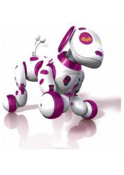 Zoomer Интерактивная собака-робот Зуми розовый Spin Master