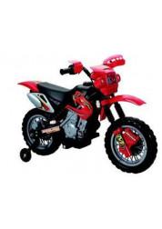 Мотоцикл Joy Automatic JT014 на аккумуляторе (1х6V, 4,5Ah), красный/черный, 102*53*66 см