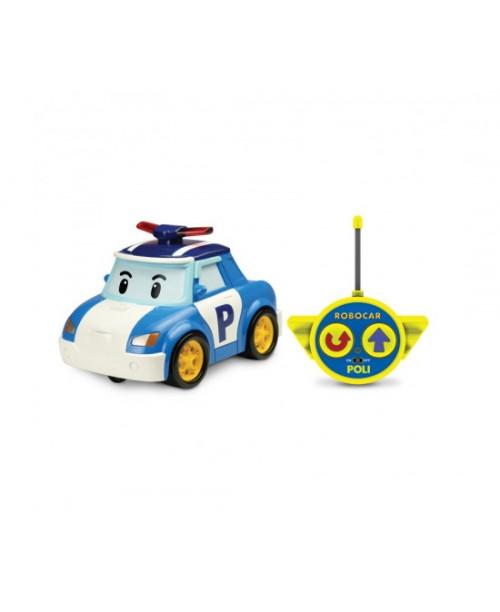 Машинка Поли на радиоуправлении 15см Robocar Poli