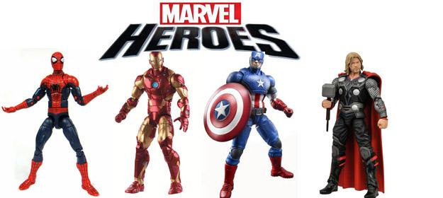Герои комиксов Марвел