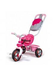 Трехколесный велосипед Baby Driver Comfort розовый Smoby