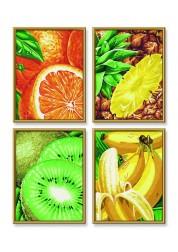 4 картины, Тропические фрукты Schipper