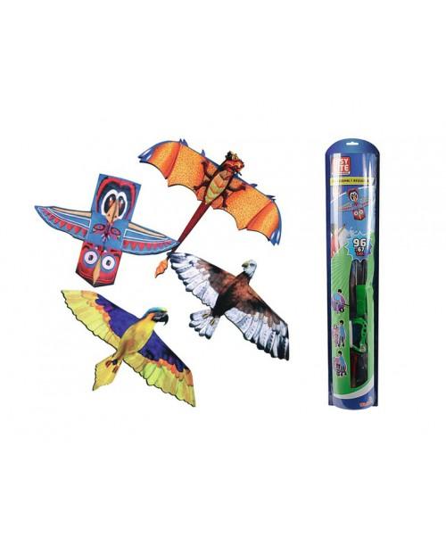 Воздушный змей 3D, 120х60
