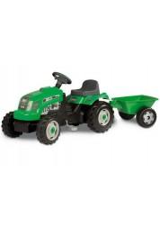 Трактор GM Bull+remorgue vert Smoby