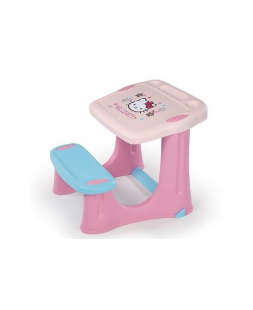 Детская парта Hello Kitty, розовая