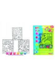 Набор для рисования витражные краски Simba