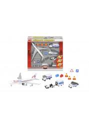 Игровой набор Аэропорт (в наборе 13 игрушек) Dickie