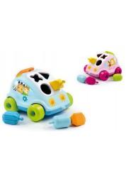 Развивающий автомобиль с фигурками Smoby