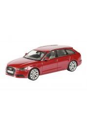 Автомобиль Audi A6 Avant red 1:43