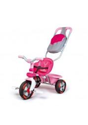 Трехколесный велосипед Baby Driver V розовый Smoby