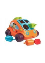 Развивающая игрушка автомобиль с фигурками
