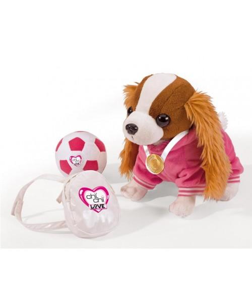 Chi Chi Love Кокер-спаниель плюшевая собачка с рюкзаком
