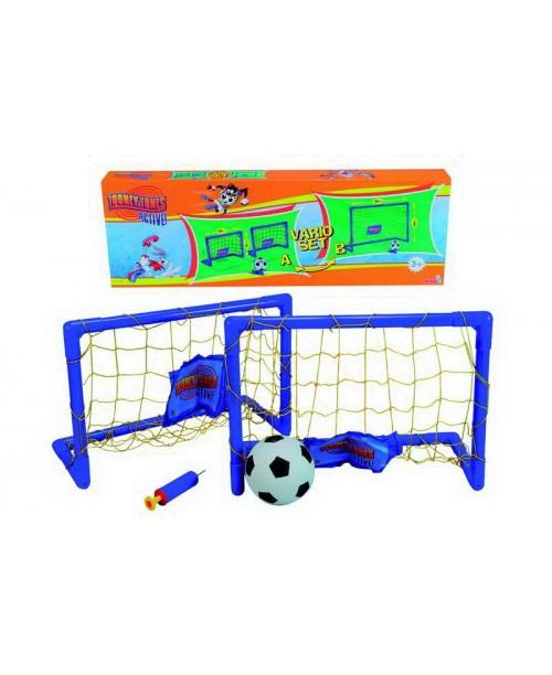 Набор спортивный (футбольные ворота, мяч, насос)