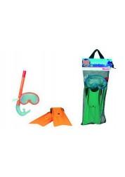 Набор для плавания маска и ласты