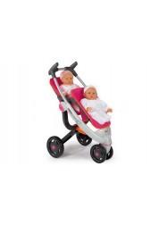 Прогулочная коляска для 2х кукол Quinny 551590 Smoby