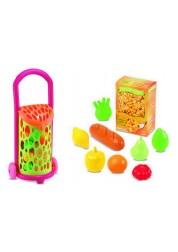 Игрушечная тележка с продуктами 977 Ecoiffier