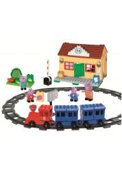 Конструктор железнодорожная станция Peppa Pig