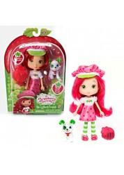 Кукла с питомцем 15 см Шарлотта Земляничка