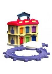 Die-Cast Игровой набор Двухэтажное депо с Брюстером