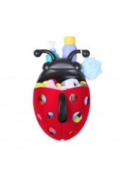 Контейнер для игрушек в ванную Божья коровка