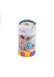 Цветные карандаши в тубе 10 цветов 36 шт Stationery