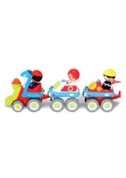 Детский интерактивный игровой набор Неваляшки Скорый поезд