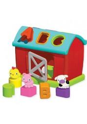 Развивающая игрушка-сортер Веселая ферма