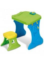 Парта-мольберт с табуреточкой Crayola, зеленая