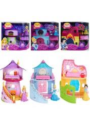 Disney Princess Домик Принцессы с мини-куклой и аксессуарами в ассортименте (Рапунцель/Белоснежка/Золушка) 263х102х268 см