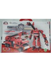 Робот-трансформер Пожарная машина (512 деталей) 81002