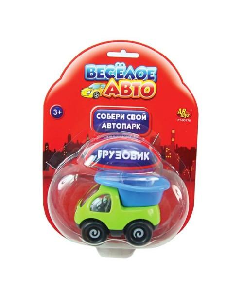 Веселое авто Машинка пластмассовая на блистере