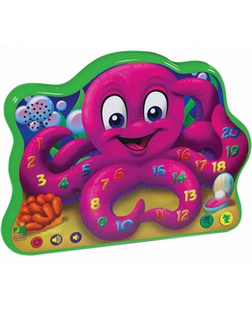 Игрушка развивающая Веселый осьминог (свет, звук)