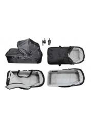 Baby Jogger Compact Pram Plus люлька компактная-плюс (черно-серая) для 1 местных моделей City Mini, City Mini GT, City Elite, Sumit X3