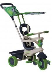 Детские велосипед Smart Trike Safari Touch Steering тёмно-зелёный