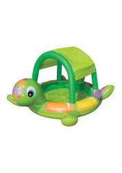 Бассейн надувной детский Черепаха 180х145х104см Intex 57410