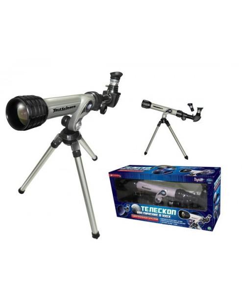 Телескоп (белый) на алюминевом треножнике с аксессуарами Eastcolight