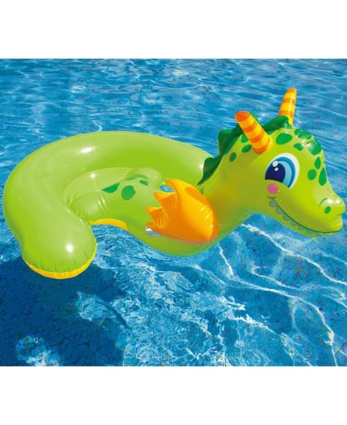 Надувное животное Дракон 130х111см Intex 56562