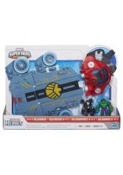 Playskool Heroes Вертолетоносец-автомобиль