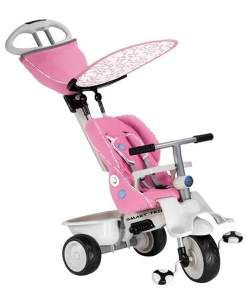 Детский велосипед Smart Trike Recliner Stroller розовый