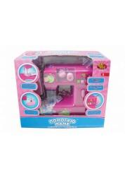 Помогаю Маме. Швейная машинка эл/мех, в наборе с аксессуарами, в коробке, 26х9,2х22см ABtoys PT-00175(2855)