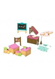 Li'l Woodzeez. Набор для классной комнаты и игровой площадки, 20 прдеметов, пластмасса