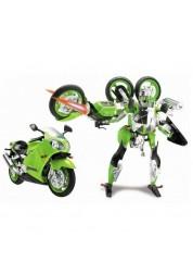 Робот-трансформер Kawasaki Ninja ZX-12R 1:10 Happy Well