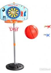 Корзина баскетбольная с сеткой и креплениями 42см Abtoys