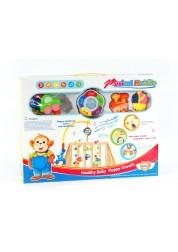 Мобиль-карусель с музыкой 8501-1 Junfa Toys