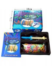 Rainbow Loom Набор для плетения браслетов из резиночек МонстрТейл компактный (с мини станком)