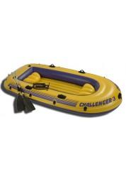 Надувная лодка Челенджер 3 (весла и ручной насос в комплекте) Intex 68370