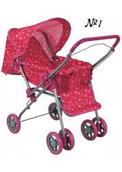 Коляска для кукол с поворотными колёсами Buggy Boom Mixy
